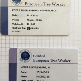 New ETW certificate